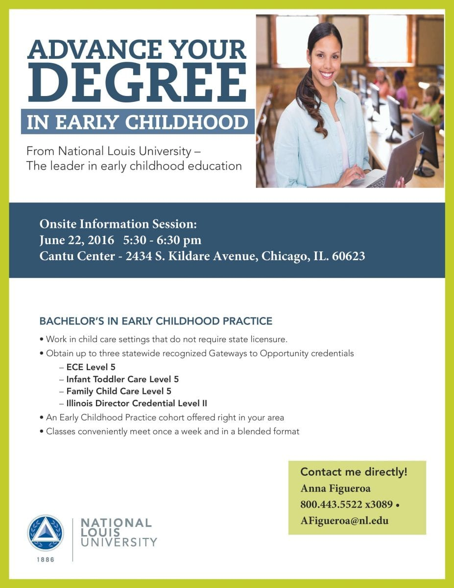Nlu Cohort Information Session Bachelors In Early Childhood