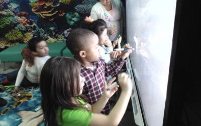 Grand Opening of El Valor's Oceanography Themed SMART Classroom