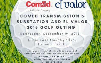 Save the Date | ComEd Transmission & Substation and El Valor Golf Outing 2018