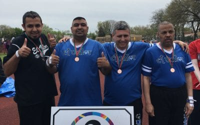 El Valor Adults Go for the Gold at 2017 Spring Special Olympics